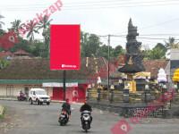 sewa media Billboard Baliho Pertigaan Jl.Antosari Pupuan - Tabanan KABUPATEN TABANAN Street