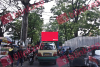 sewa media Billboard Bando Jl.Purnawarman KOTA BANDUNG Street