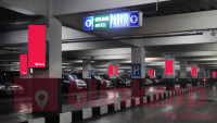 sewa media Neon Box Trans Studio Mall - Neon Box Parking Area LG and Parking Area P1  KOTA BANDUNG Mall