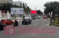sewa media Videotron / LED LED Jl. Sudirman - Pekanbaru, Riau KOTA PEKANBARU Street