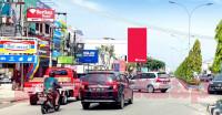 sewa media Billboard Billboard JL.Tuanku Tambusai Depan SPBU  KOTA PEKANBARU Street