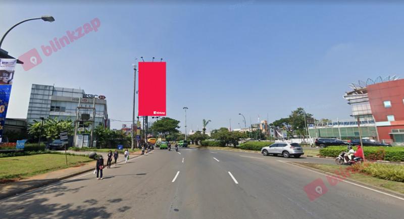 Sewa Billboard - Billboard Jl. Raya Pahlawan Seribu Serpong (Depan BSD Junction) A - kota tangerang selatan