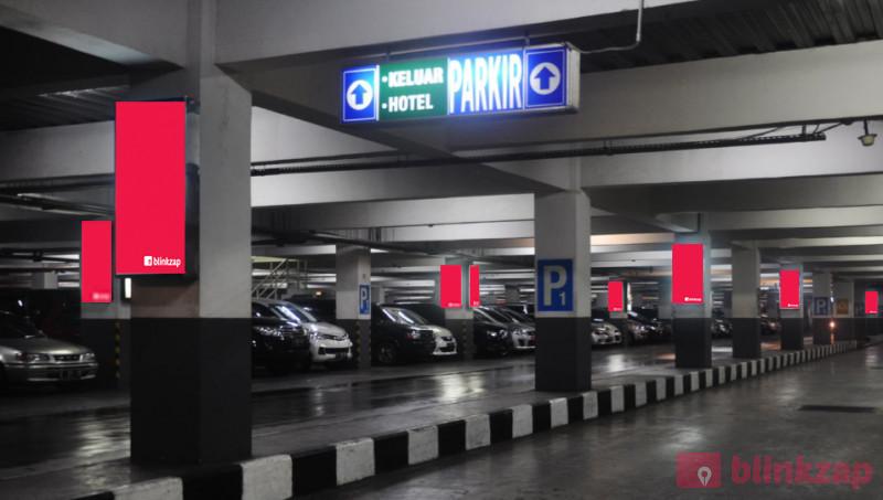 Sewa Neon Box - Trans Studio Mall - Neon Box Parking Area LG and Parking Area P1  - kota bandung