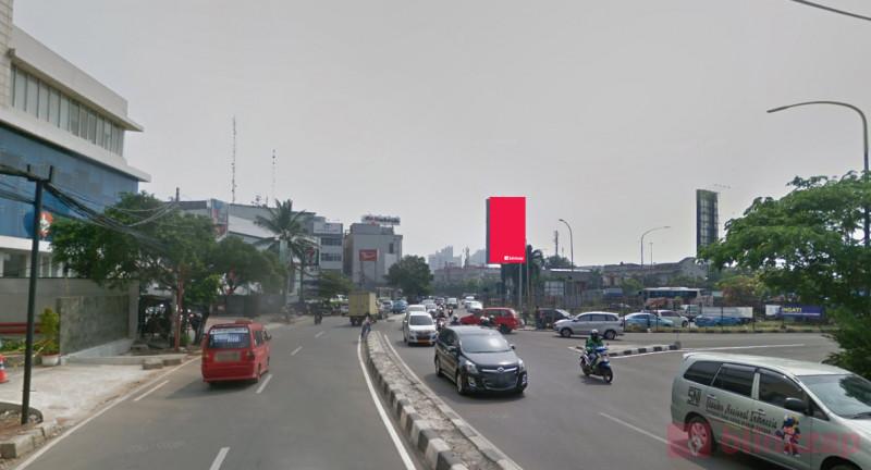 Sewa Billboard - Billboard Tol Jakarta - Tanggeran KM03.400A - A - kota jakarta barat