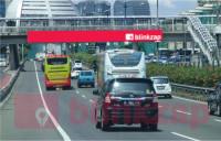 sewa media Billboard JPO Jl Gatot Subroto KM.5+350B KOTA JAKARTA SELATAN Street