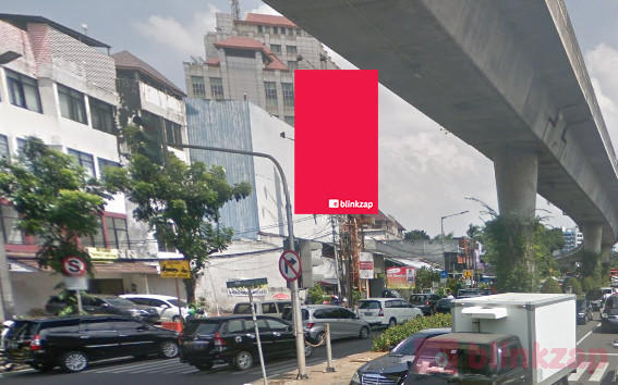 Sewa Billboard - Jl. Prapanca Jakarta Selatan - kota jakarta selatan
