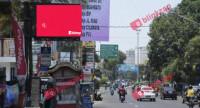 sewa media Videotron / LED Videotron Lembong KOTA BANDUNG Street