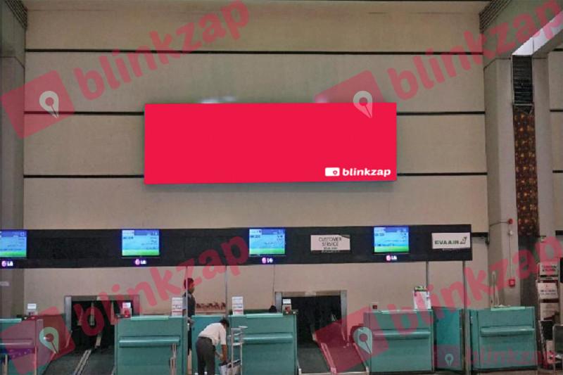 Sewa Neon Box - Neon Box Check In Area Terminal 2D, 2E Departure - kota tangerang