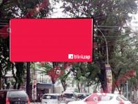 sewa media Billboard Semi Bil Zainul Arifin dpn Bank Sumut (A) KOTA MEDAN Street