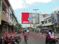 sewa media Billboard Billboard MGM_20, Jalan Sudirman (Side A) Dekat Showroom Yamaha - Kota Tebing Tinggi KOTA TEBING TINGGI Street
