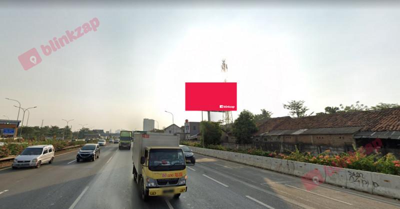 Sewa Billboard - Billboard Jl. Tol Jakarta - Tangerang ( Dari Jakarta Menuju Karawaci )( Tol Kebonanas KM 18-400 )  - kota tangerang