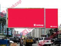 sewa media Billboard MT Haryono Simp Kereta Api KOTA MEDAN Street