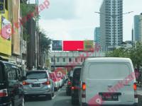 sewa media Videotron / LED LED Jl.Hayam Wuruk - Gajah Mada (A) KOTA JAKARTA BARAT Street