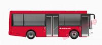 sewa media Vehicle Branding Bus Trans Jogja Full Body KOTA YOGYAKARTA Other
