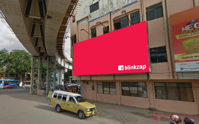 Sewa Billboard - Billboard Saribundo / Simpang Charitas, Jalan Kapten A. Rivai Kota Palembang - kota palembang