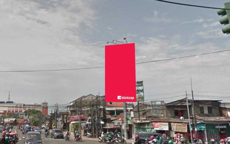 Sewa Billboard - Billboard - 133 Jl.Dewi Sartika (Pertigaan Kalibata) - kota jakarta timur