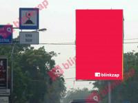 sewa media Billboard 55 Sujono Depan Polsek (B) KOTA MEDAN Street
