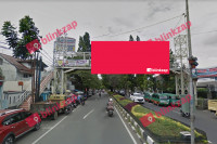 sewa media Billboard JPO Backlite jl.Dago KOTA BANDUNG Street