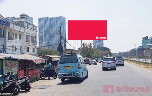 Sewa Billboard - Billboard Jl. KH. Noer Ali (Depan Parkiran MotorGrand Metropolitan) - kota bekasi