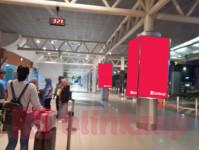 sewa media Neon Box Neon Box Drop Off Departure & Arrival Area Outdoor SM Badaruddin II - Palembang KOTA PALEMBANG Airport