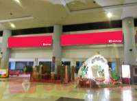 sewa media Neon Box Neon Box Baggage Claim Above Exit Gate Arrival  SM Badaruddin II - Palembang KOTA PALEMBANG Airport
