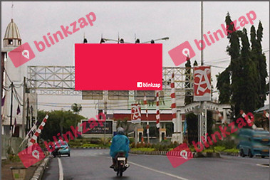 Sewa Billboard - Billboard Jalan Dpn Pintu Gerbang Bandara (A) - kota manado