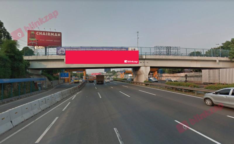 Sewa Billboard - Billboard TOL JANGER KM 10.700 - ARAH JAKARTA - kota tangerang
