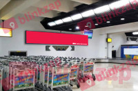 sewa media Neon Box Neon Box Conveyor Baggage Wall Terminal 2F Arrival KOTA TANGERANG Airport