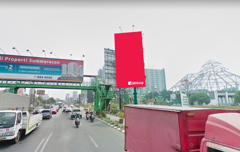 Sewa Billboard - Billboard Jl. Jend A Yani Depan Islamic Center A - kota bekasi