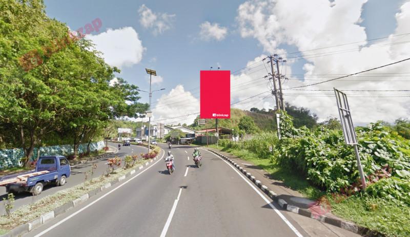 Sewa Billboard - Billboard Jl. A . A  Maramis – Koran Tribun B - kota manado