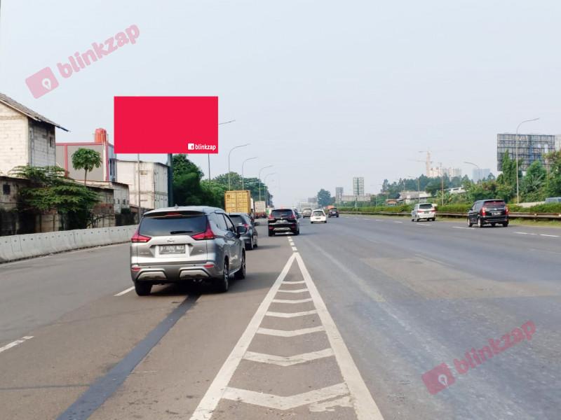 Sewa Billboard - Billboard Jl. Tol Jakarta - Tangerang ( Dari Karawaci Menuju Jakarta )( Tol Kebonanas KM 18-400 )  - kota tangerang
