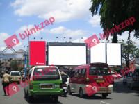 Billboard CS64-VL020, Jalan May. Tjik Agus Kiemas Kota Palembang