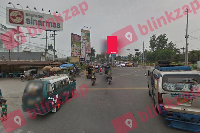 Sewa Billboard - Baliho Jl SM Raja Simpang 4 Jl Tritura - kota medan
