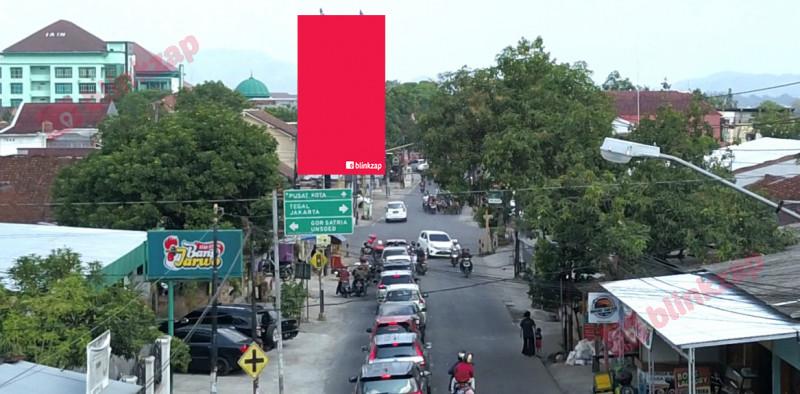 Sewa Billboard - Billboard PEREMPATAN POL. SUMARTO B - kabupaten banyumas