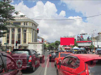 sewa media Billboard Billboard Per3an Jl Pahlawan - Jl Pasar besar -  Tembaan Surabaya KOTA SURABAYA Street