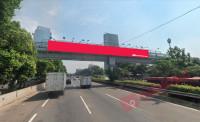 sewa media Billboard Billboard JPO Tol Jorr KM 27+00 - Dekat Gedung Arcadia (Arah Pandang menuju Pondok Indah) KOTA JAKARTA SELATAN Street