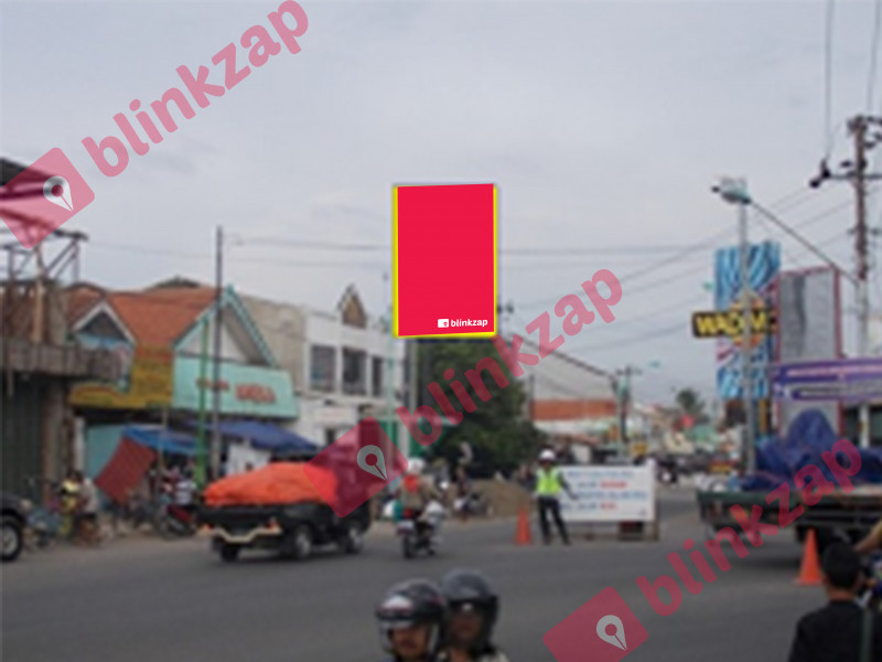 Sewa Billboard - BBS 002, Jl.A.Yani (Pasar) - kabupaten brebes