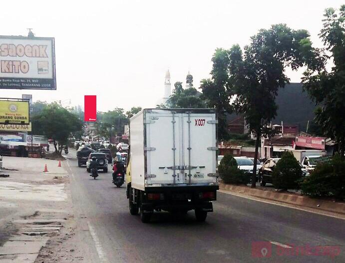 Sewa Billboard - Billboard JL RAWABUNTU (PUTAR BALIK DE LATINOS) TANGSEL - kota tangerang selatan