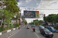 sewa media Billboard MND72 KOTA MANADO Street