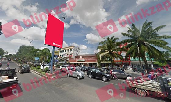 Sewa Billboard - Billboard CS64-VL026B, Jalan Jend. Basuki Rachmat Kota Palembang - kota palembang