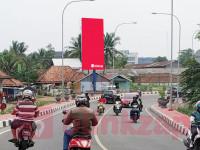 sewa media Billboard Billboard Jl. Selamet Riyadi Jembatan Musi 4 KOTA PALEMBANG Street
