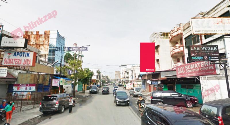 Sewa Billboard - Billboard BW030B - Jl. Sumatera simp Jambi - kota medan