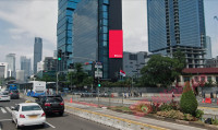 sewa media Videotron / LED Videotron Jl. MH Thamrin UOB Plaza KOTA JAKARTA PUSAT Street