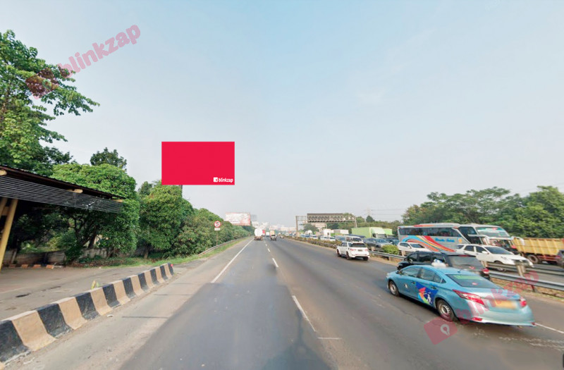 Sewa Billboard - Billboard Tol Jakarta-Tangerang KM.11+600 A - kota tangerang