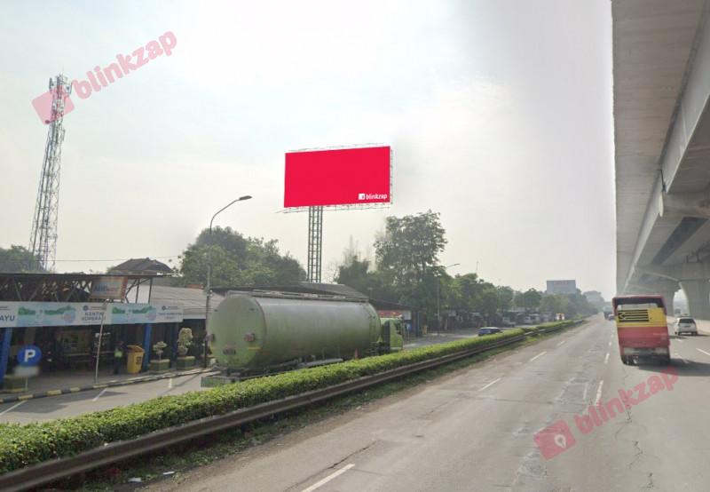 Sewa Billboard - Billboard Tol Jakarta Cikampek KM 33+400 A - kabupaten bekasi