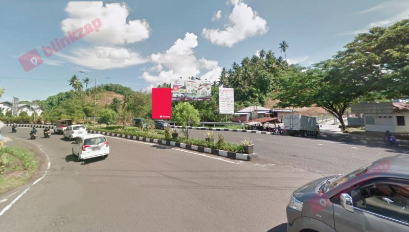 Sewa Billboard - Billboard  Jl. A A Maramis – Jembatan Kairagi A - kota manado