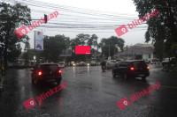 sewa media Videotron / LED Videotron Bandung jalan Sulanjana KOTA BANDUNG Street