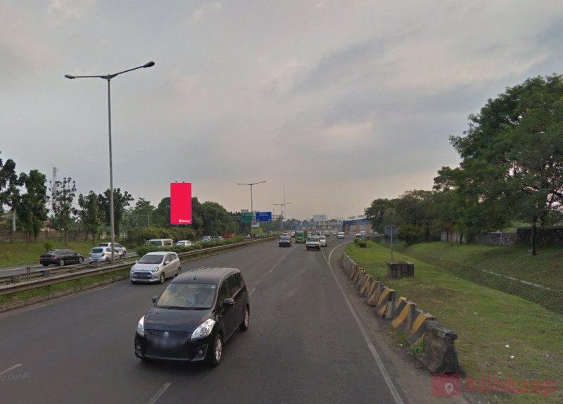 Sewa Billboard - Billboard KM.04.400 Pondok Ran Jl.Bintaro - kota tangerang