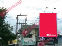 sewa media Billboard 228 Sei Batang Hari Simp Titi Papan Djarum KOTA MEDAN Street