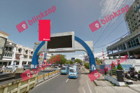 sewa media Billboard Billboard DEPAN MANTOS JL. PIERE TENDEAN (A) KOTA MANADO Street